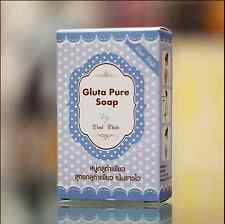 Soap White Gluta Wink Pure Whitening Anti Aging Skin Face Body 12 X 70 g New
