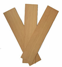 Spruce Wood Panels 100mm x 450mm x 1.5mm - Pack of 3 Sheets SPR1X3