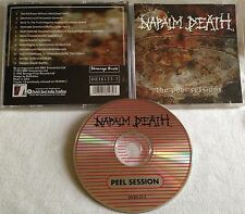 Napalm Death  The Peel Sessions CD DUTCH EAST INDIA extreme noise terror carcass