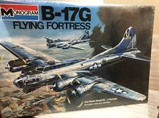 Monogram 1/48 5600 b-17g Flying Fortress Vitage Modelo Kit de Sellado