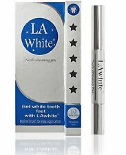 Get White Teeth Fast With The LAwhite Tooth Whitening Pen For Instant Results!