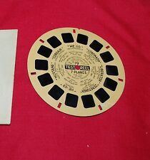 RARE VIEW MASTER AVIATION REEL NO 19 ISSUED 1941 FOR US NAVY TRAINING 7 PLANES