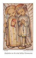 """Fleißbildchen Heiligenbild Gebetbild Hummel"""" Holy card Ars sacra"""" H1157"""""""