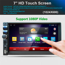 7'' Car Radio Media Player Android 5.1.1 Quad-core Bluetooth A2DP MP3 MP4 Player