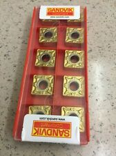 NEW***SNMG432 MF 1025 SANDVIK CARBIDE INSERTS**10 INSERTS TO A PACK