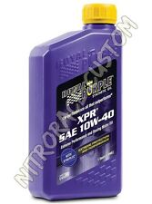 Royal Purple XPR Racing Oil Olio - 10W-40 - 4 L