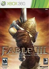 Fable III  3 Collectors Edition PAL Xbox 360 Game *VGWC!* + Warranty!
