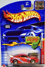 HOT WHEELS 2002 TUNERS TOYOTA CELICA #066 RED FACTORY SEALED