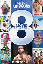 Failing Upward: 8 Movie Collection (DVD, 2013, 2-Discs)Sealed,Comedy,Speedy Ship