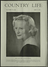 Anastasia Leveson Gower / Studd The Green Cotherstone 1958 1 Page Photo Article
