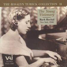 Young Visionary - Rosalyn Tureck (1996, CD NEUF) Tureck (