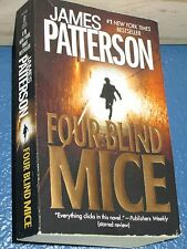 Four Blind Mice by James Patterson *FREE SHIPPING * 9780446613262