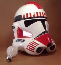 Master Replicas Shock Trooper helmet   Lucas Films / Star Wars Clone Trooper 1:1