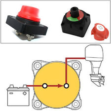 Auto Truck RV 12V Battery Selector Isolator Disconnect Rotary Switch Cut On/Off