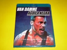 AGUILA NEGRA / BLACK EAGLE - Van Damme - English/Español Bluray disc -Precintada