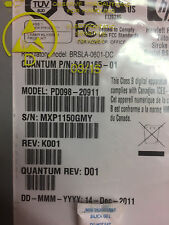 6440165-01 PD098-20911 Quantum / HP LTO4 FH FC Ultrium Loader Drive Fully Tested