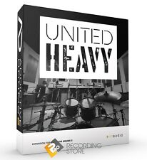 XLN Audio United Heavy ADpak Drum Kit Sample EXPANSION for Addictive Drums 2