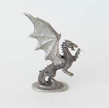 Ral Partha PP277 Miniature Winged  Dragon with Crystal Ball Dungeons and Dragons