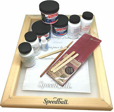 Speedball Super Value Opaque Fabric Screen Printing Starter Kit - Value Pack