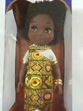 Disney Store ''it's a small world'' Kenya Singing Doll - 16'' new in box