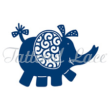 Tattered Lace Cutting Die Elephant - D568 Stephanie Weightman - FREE UK P&P