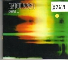 (CK439) Ambulance Ltd, Primitive (The Way I Treat You) - 2003 CD