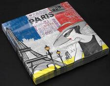 Papier Servietten Papierservietten 20 Stück Allez Paris  PPD