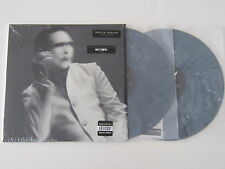 MARILYN MANSON The Pale Emperor DOUBLE LP GRAY VINYL rare oop SEALED