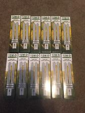 12 double tube compact fluorescent lamp Light 13W-D 2 pin Kelvin temp 3500