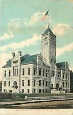 Kansas, KS, Junction City, Geary County Court House Early Postcard