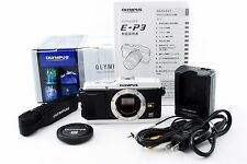 *Near Mint!!* Olympus PEN E-P3 12.3 MP Digital Camera White Body Only from Japan