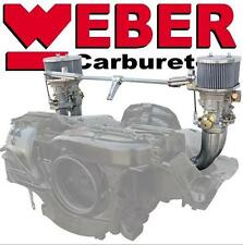 Dual Weber 40 IDF Carburetor Kit for VW Type 4 Engine (Also used on Porsche 914)