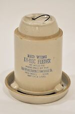 Red Wing Pottery Ko-Rec Poultry Waterer