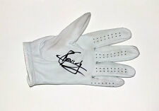 Gregory Bourdy, match-worn signed Titleist golf glove. COA.