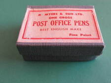 M Myers & Son Ltd Post Office Pens Fine Point Nibs in Original Unopened Box