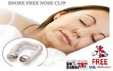 SNORING STOPPER-SNORE FREE SLEEP-MAGNETIC NOSE CLIP RING-Advancement Device