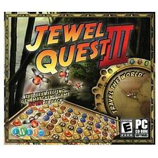 Brand New Game: JEWEL QUEST III, new in jewel case w/ slipcover; FREE US SHIP