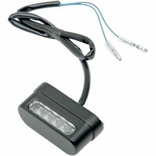 LED Motorcycle License Plate Light Universal  Black L12-6024BE