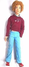 My Scene Bryant Doll Barbie 1999 Mattel Male Curly Hair Jointed Retired 13""