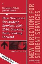 J-B SS Single Issue Student Services: New Directions for Student Services,...