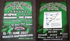 Chronical Moshers Open Air 2011  - Promotion Flyer - Mühlteich / GER