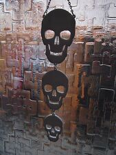 skulls window/wall art/ plaque sun catcher/accessories/mobile/goth halloween emo