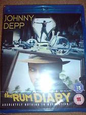 THE RUM DIARY - BLU-RAY (B) BNIB