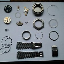 Tag Heuer Super PRO Spares or Repair only All Parts And Bracelet
