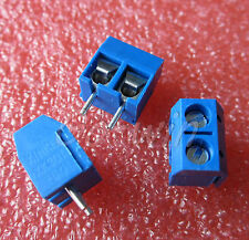20pcs KF301-2P 2 Pin Plug-in Screw Terminal Block Connector 5.08mm Pitch JEW