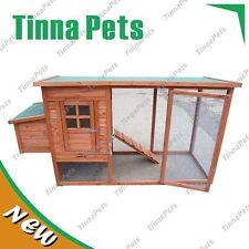 Large Chicken Coop Hen house Chook Hutch Run Cage T001 FREE PICK 1980*750*1030mm