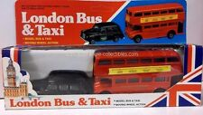 London Bus & Taxi Set of 2 in 1:43