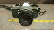 Pentax ME Super silver Body 35mm SLR Film Camera w/lens