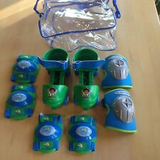 Go Diego Go Animal Rescue Roller Skates,Elbow Knee Pads,Ages 3-6,Shoe Size 6-12