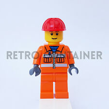 LEGO Minifigures - 1x cty031 - Construction Worker - Omino Minifig Set 4933 7905
